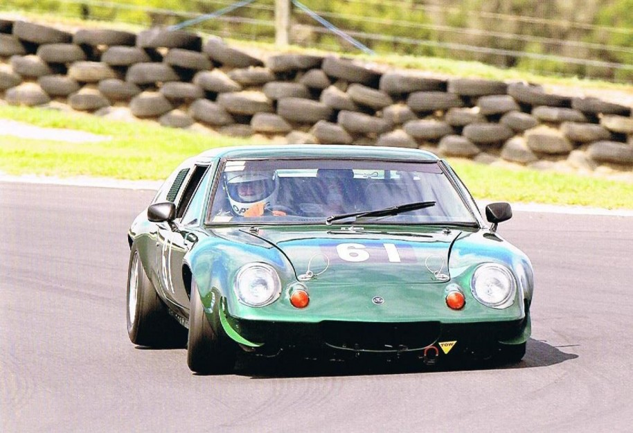 Lotus Europa Historic Race Car