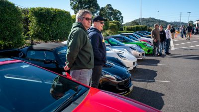 CLA Run to the Gosford Classic Car Museum by Syd Reinhardt