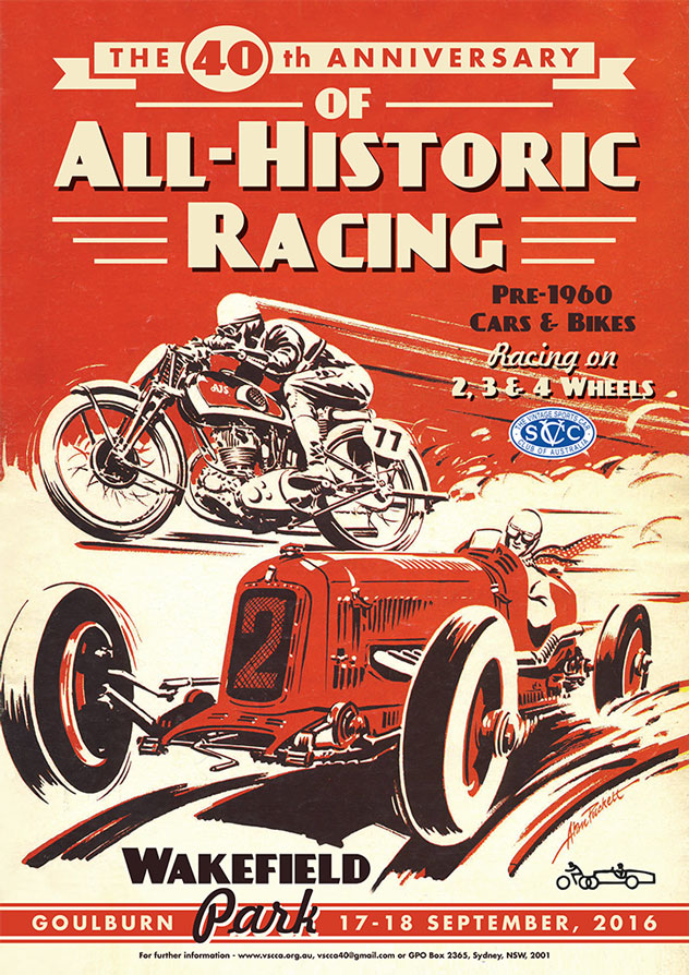 VSCC 40 Years of All Historic Racing
