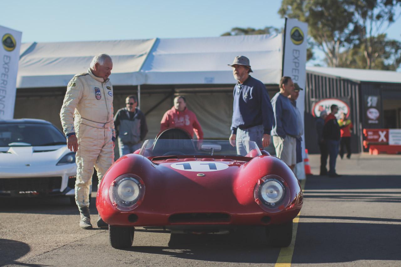 Club Lotus Australia at Sydney Retro Racefest by Paul D'Ambra