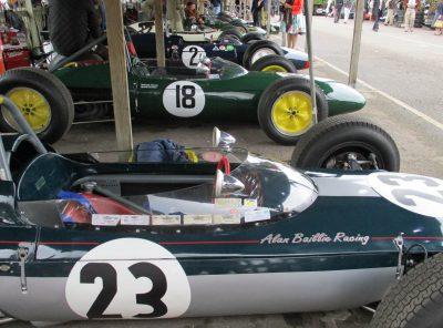 Lotus at 2017 Goodwood Revival