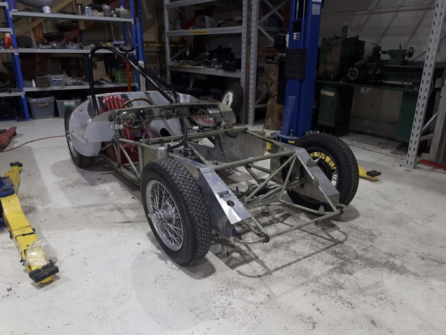 TUFTs Lotus Eleven Rebuild April 2020