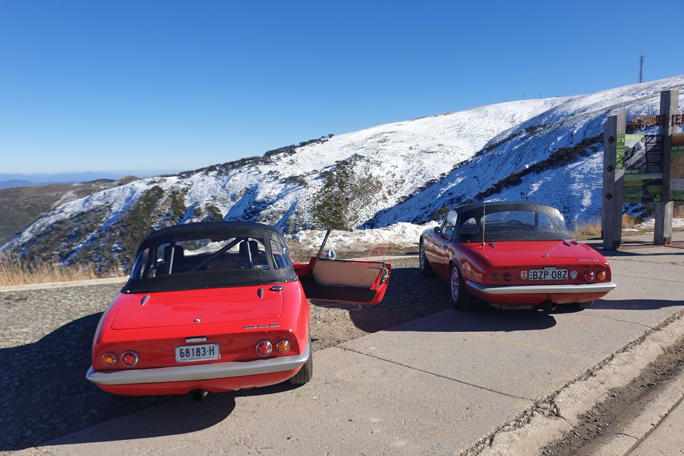 The Top of Mount Hotham